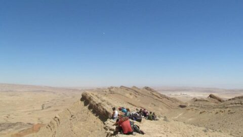 Craters & the Negev Mountains